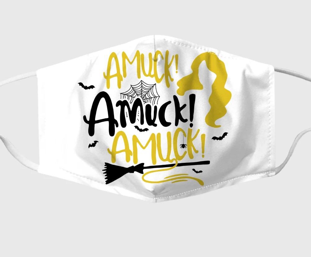 Amuck Amuck Hocus Pocus Fabric Face Mask