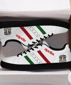 Aprilia White Stan Smith Shoes