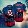 Arizona Wildcats Tropical Hawaiian Shirt, Beach Short