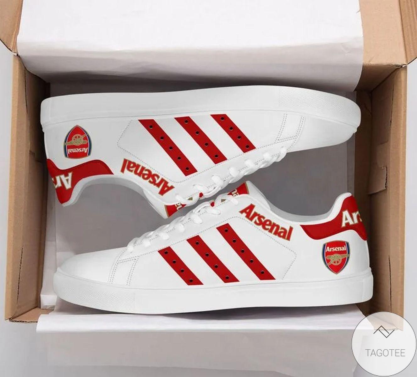 Free Ship Arsenal Stan Smith Shoes