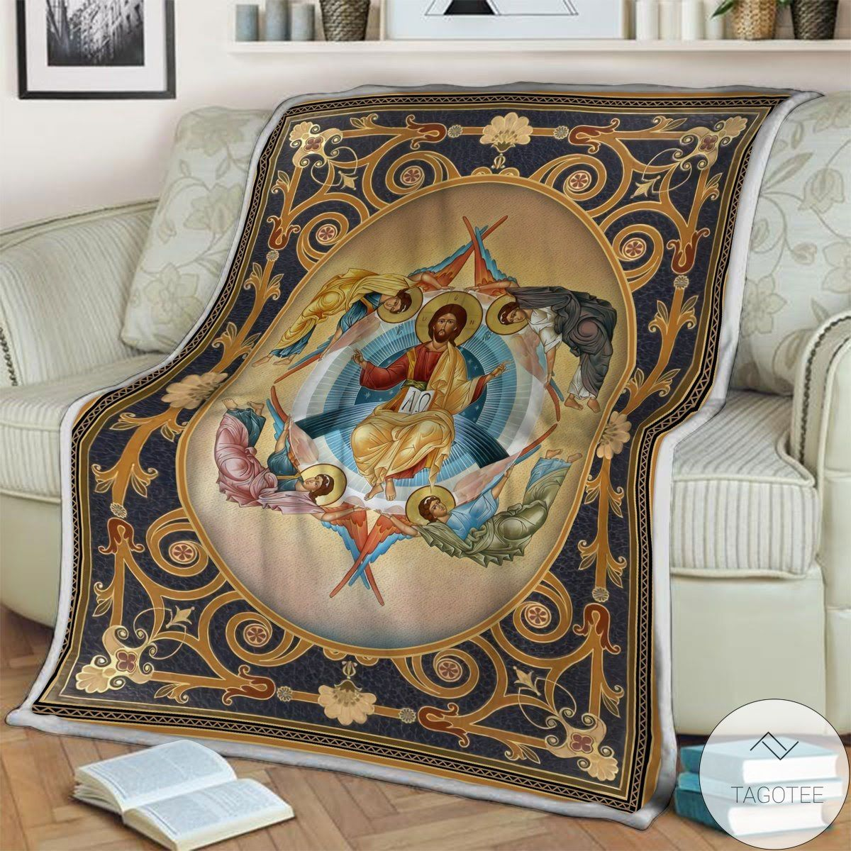 Review Ascension Of Christ Blanket