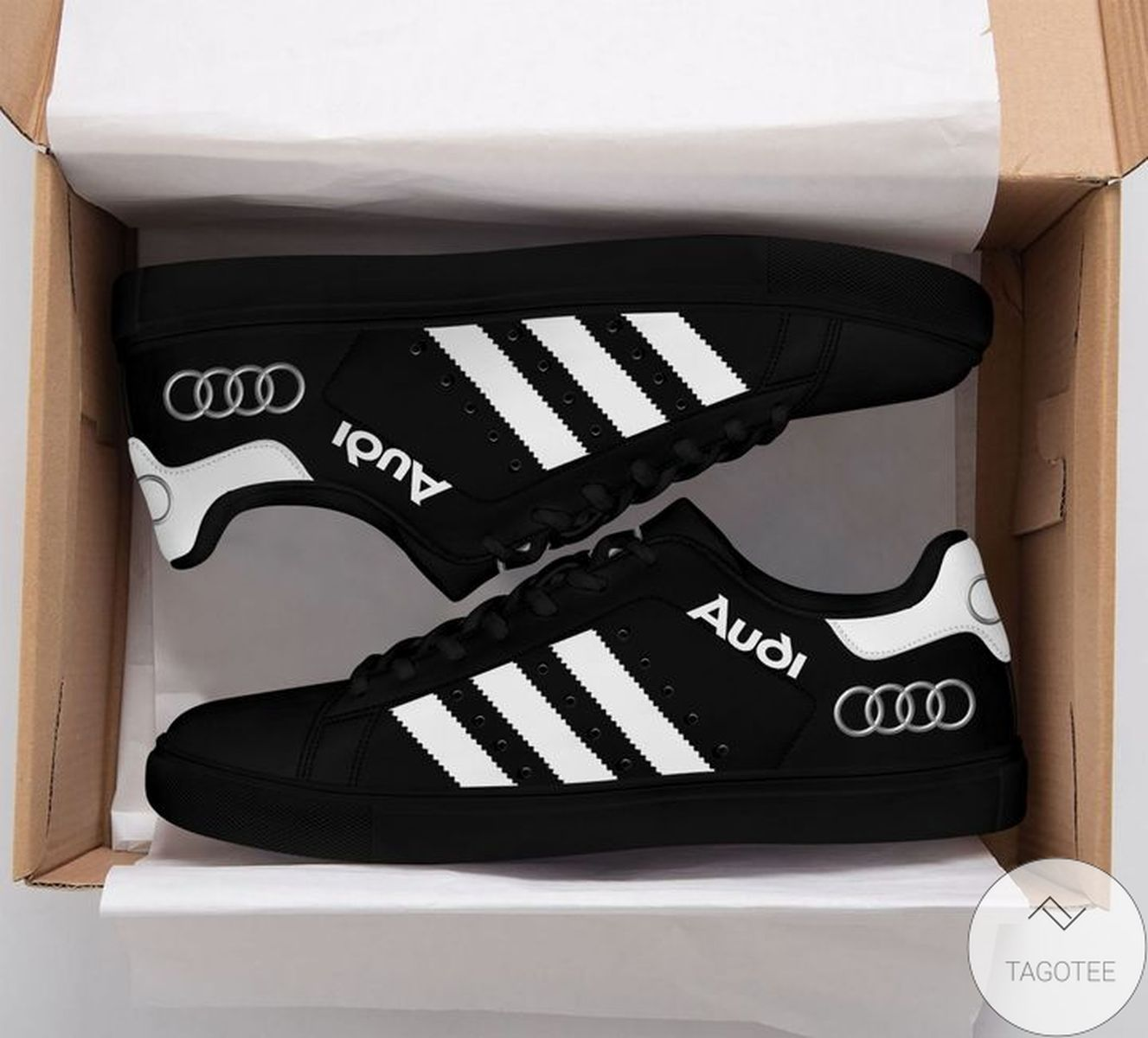 Official Audi Black Stan Smith Shoes