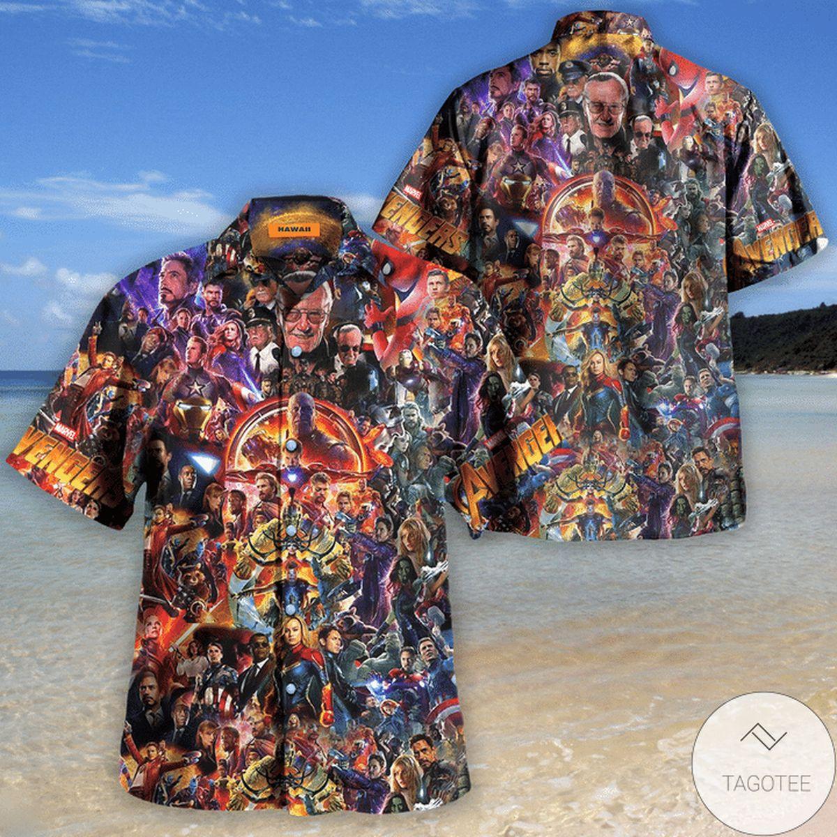 Discount Avengers I Love You 3000 Unisex Hawaiian Shirt