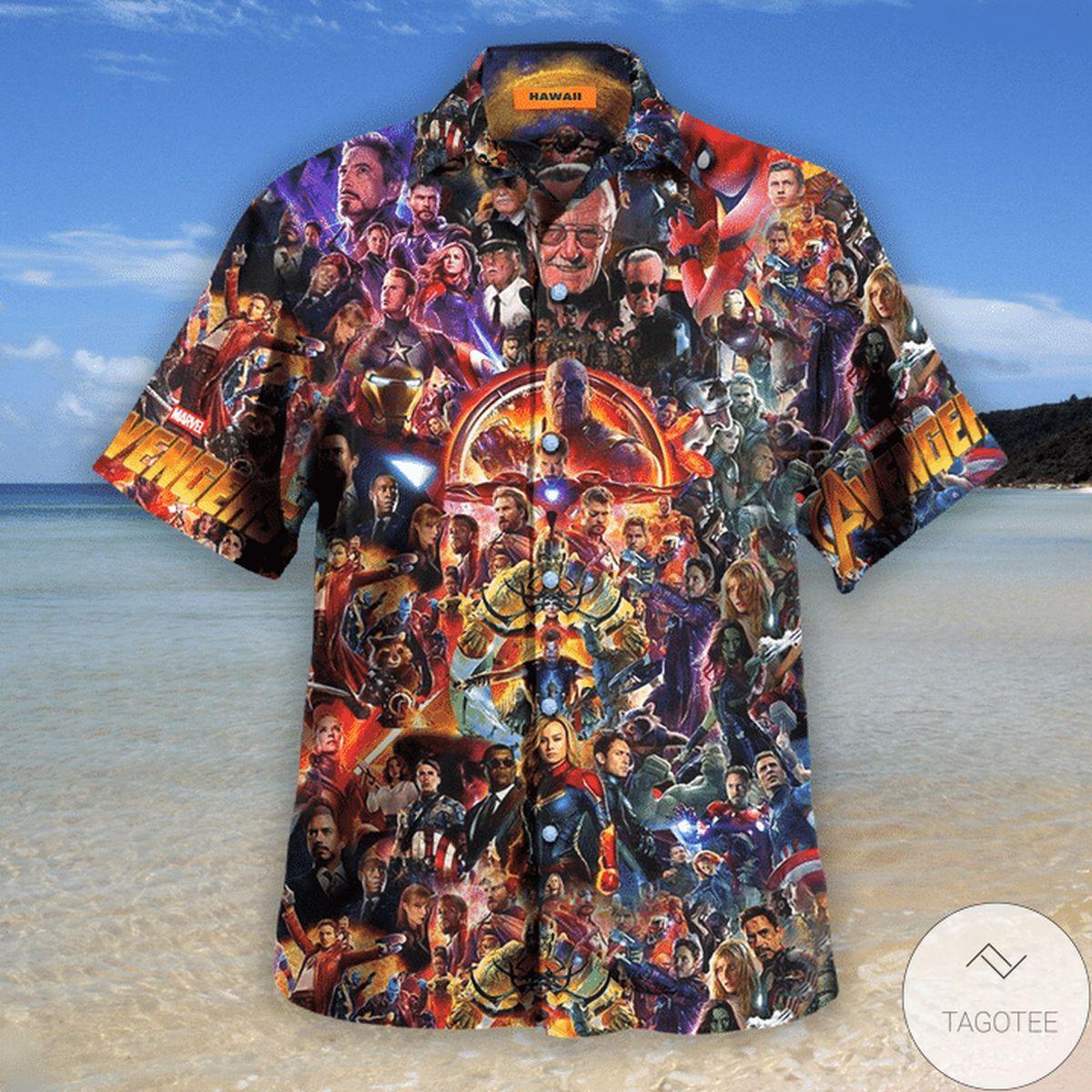Luxury Avengers I Love You 3000 Unisex Hawaiian Shirt