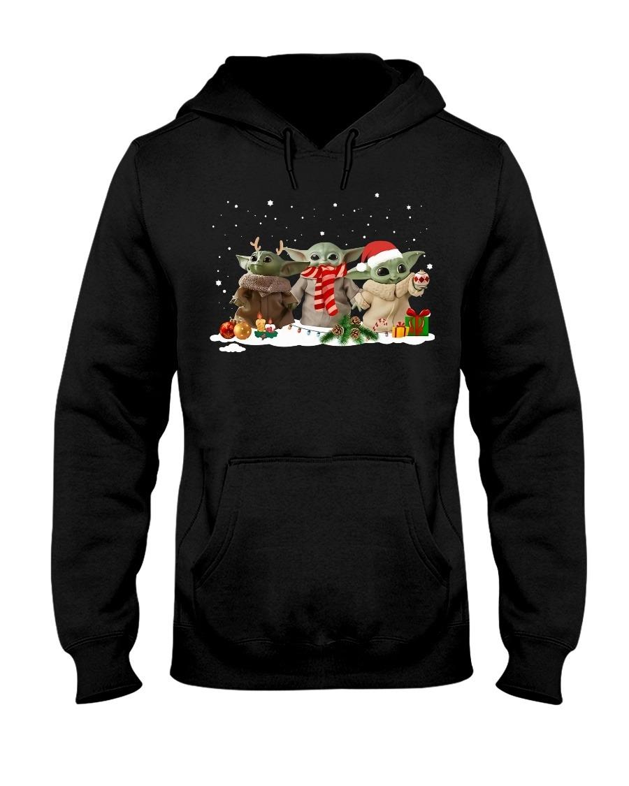 Baby Yoda Christmas Hoodie