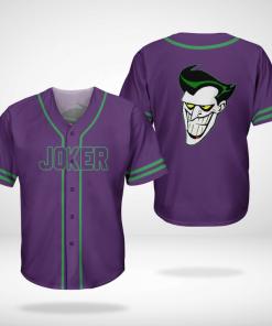 Batman Joker Jersey Baseball Shirt
