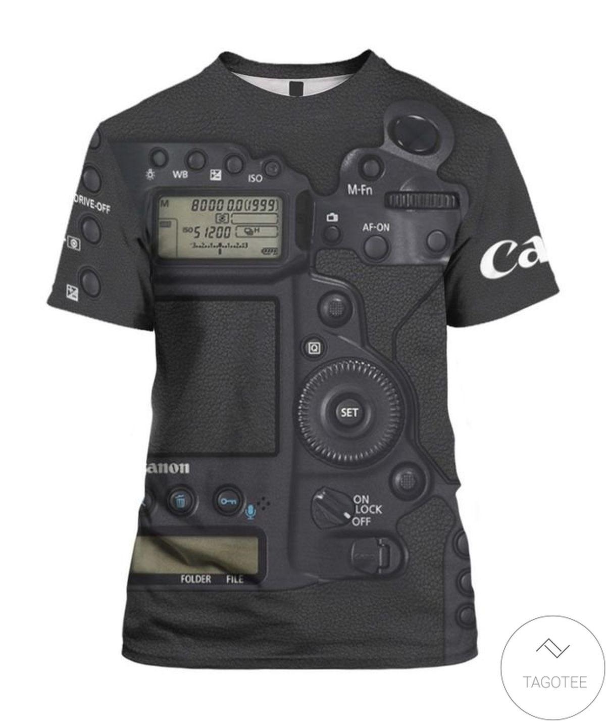 Beautiful Camera Eos Canon 3d Shirt