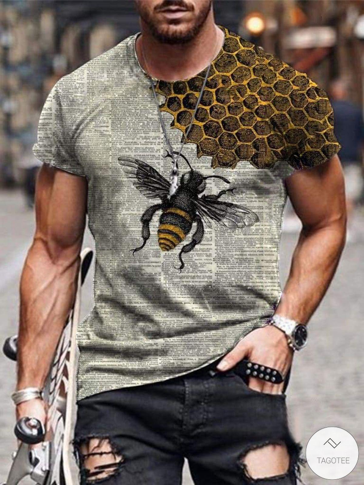 Bee Book 3D T-shirt