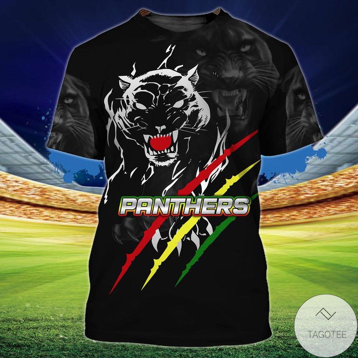 Black Panthers 3d Shirt