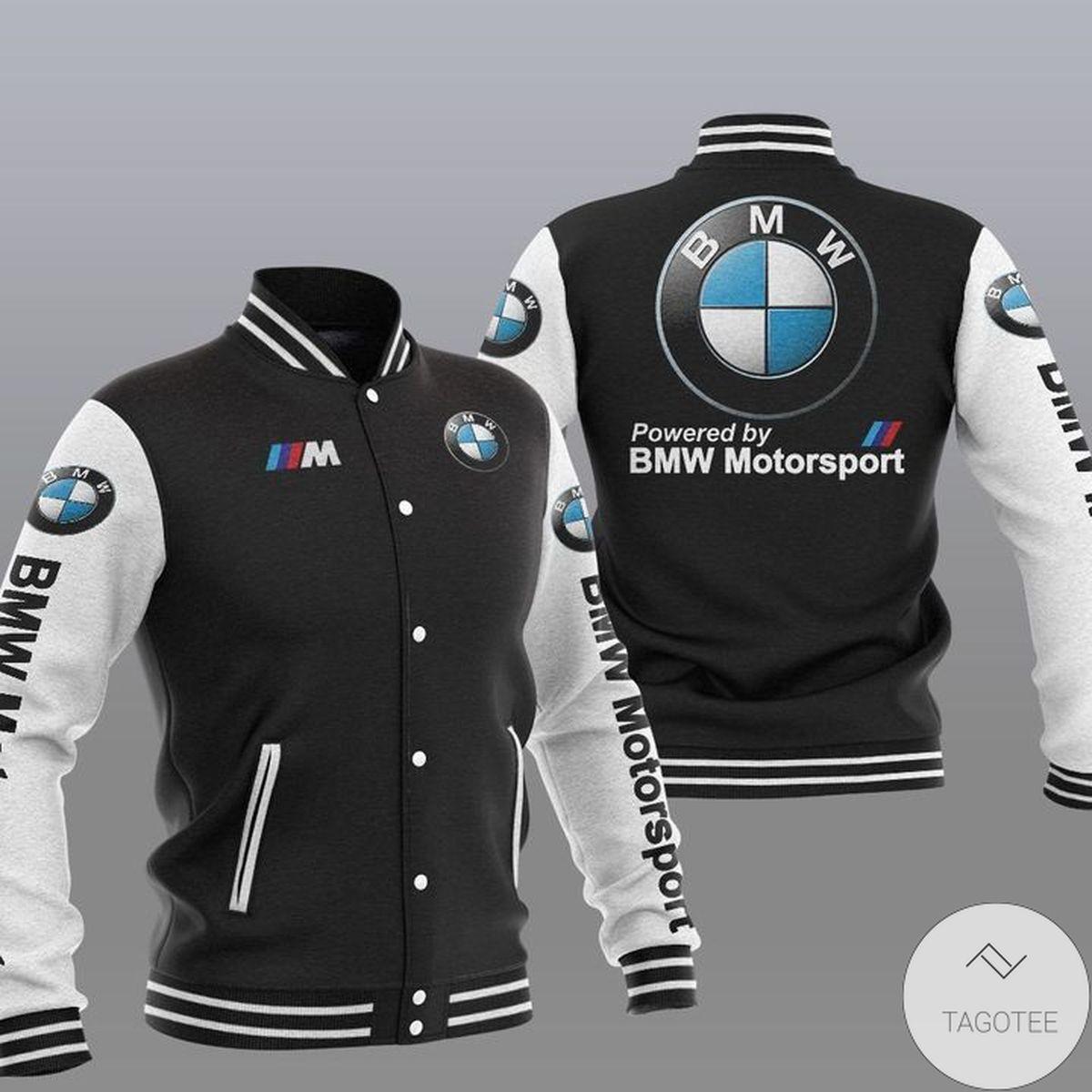 Drop Shipping Bmw Motorsport Varsity Baseball Jacket