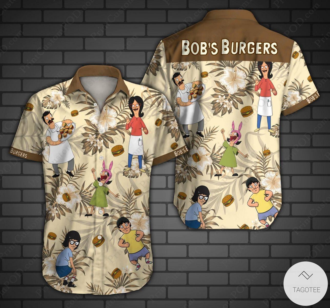 Bob's Burgers Hawaiian Shirt