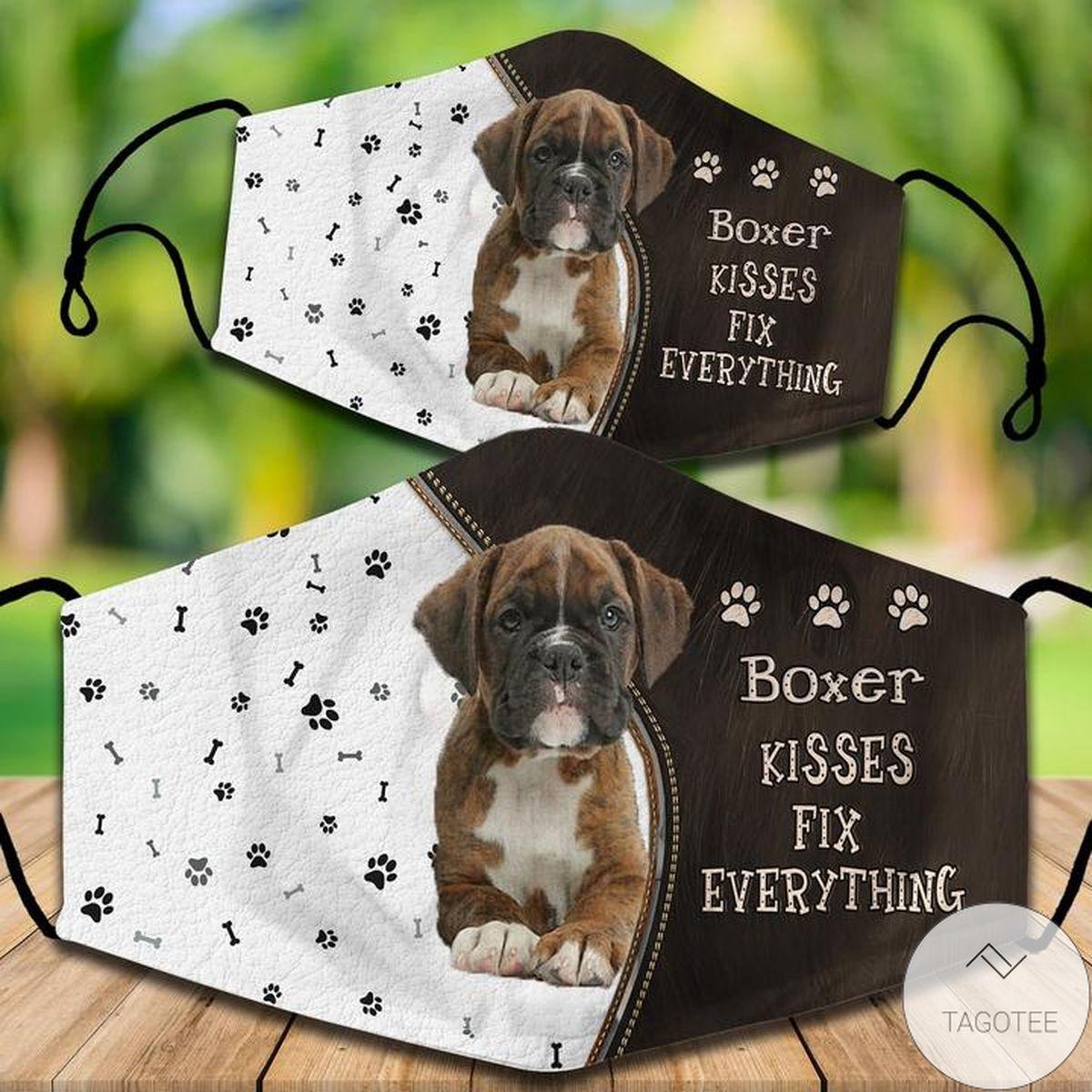 eBay Boxer Kisses Fix Everything Pillowcase