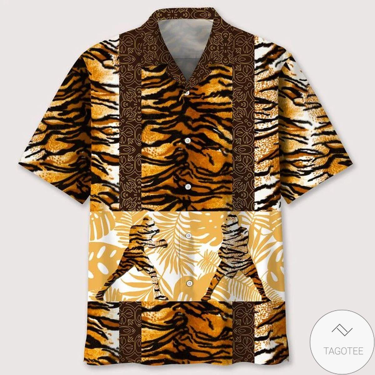 Review Boxing Leopard Skin Hawaiian Shirt