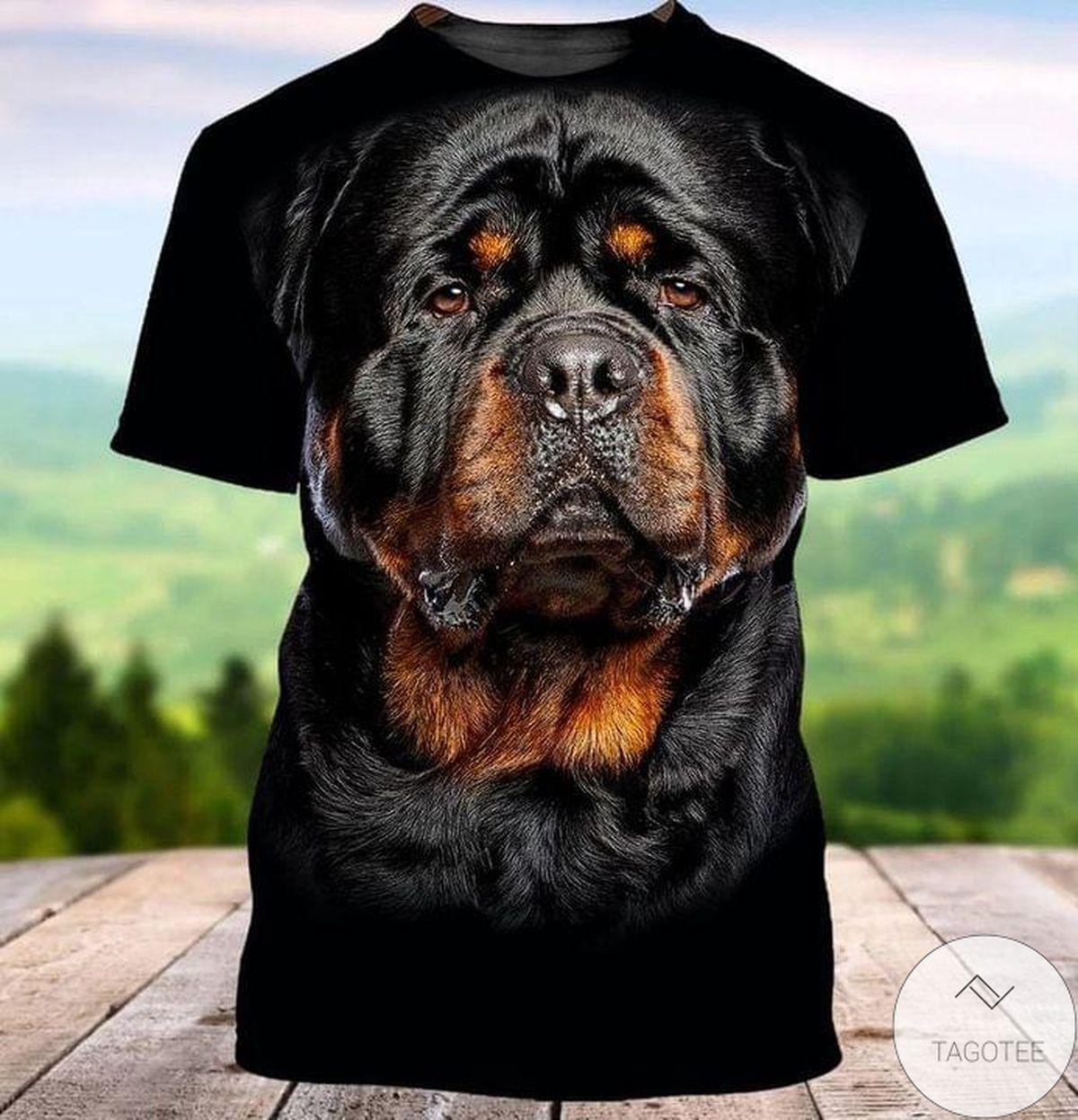 Bulldog Full Print T-Shirt