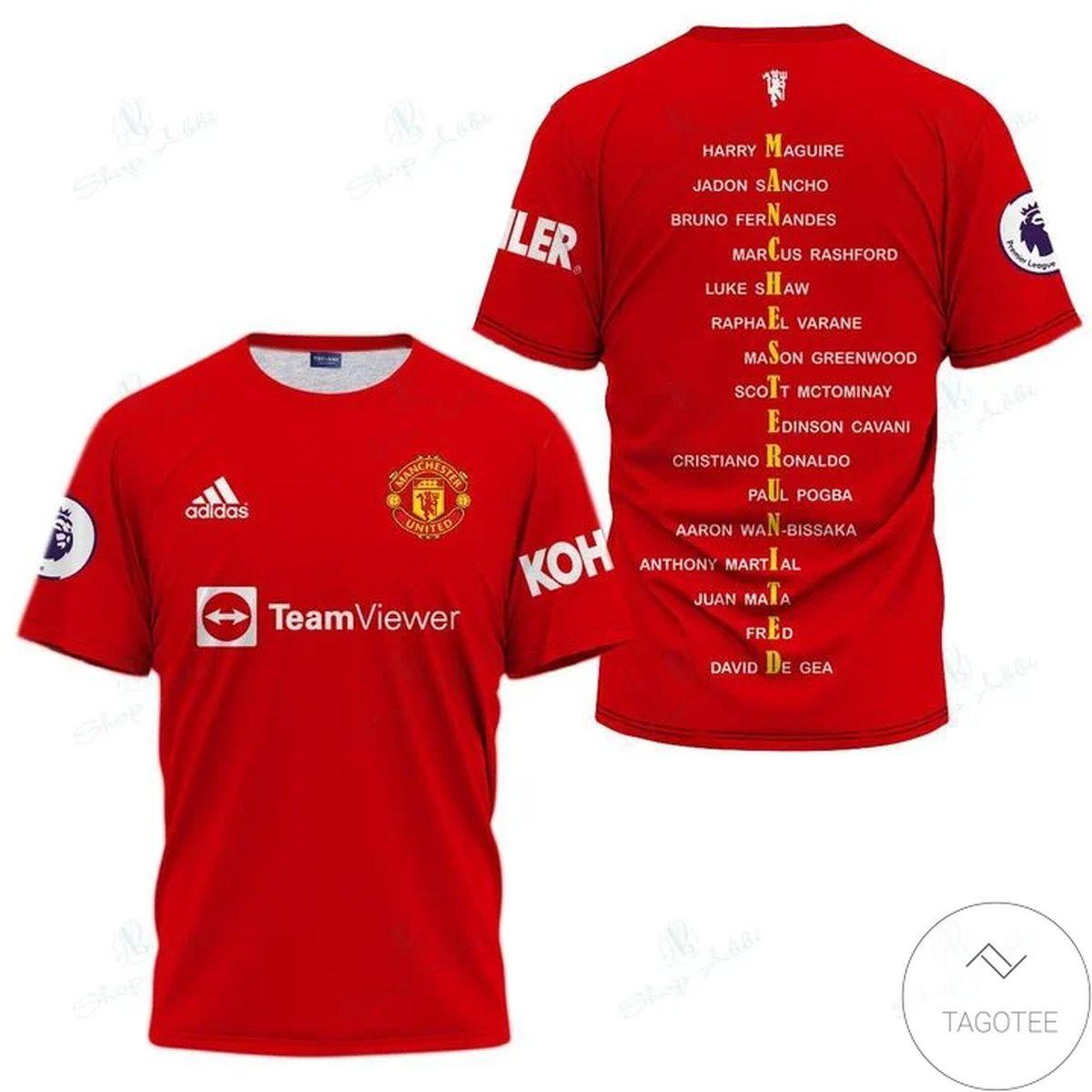 CR7 Cristiano Ronaldo Manchester United Sport Shirt
