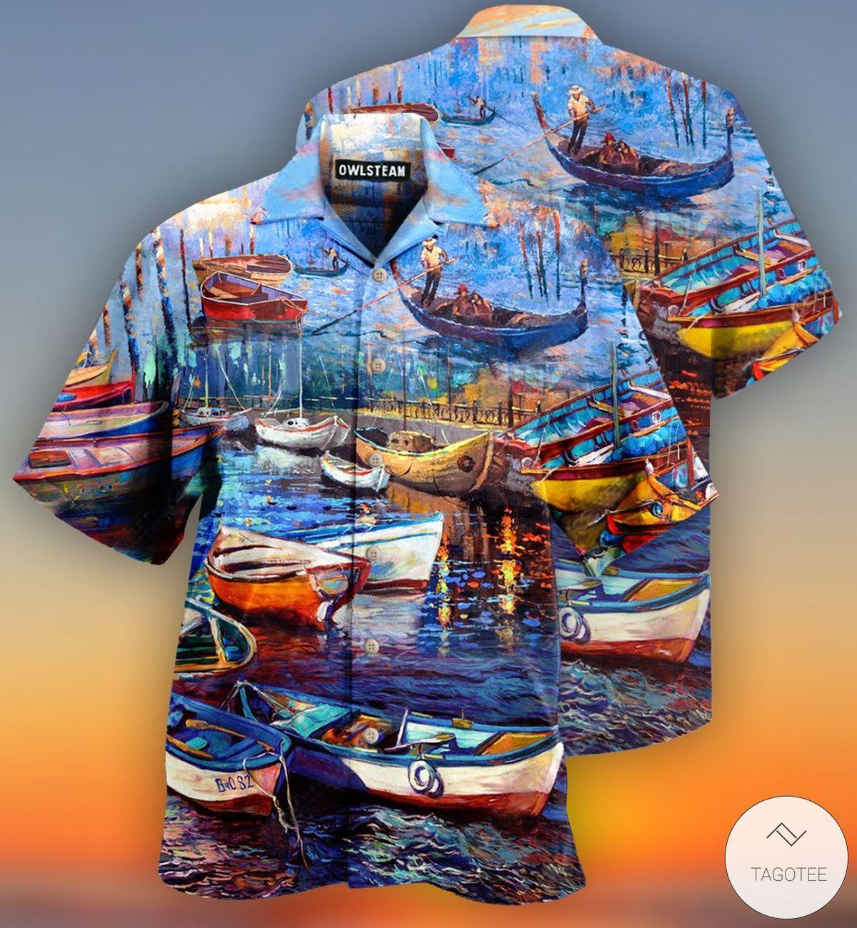 Canoe Lije Is A Jouney Enjoy The Ride Hawaiian Shirt