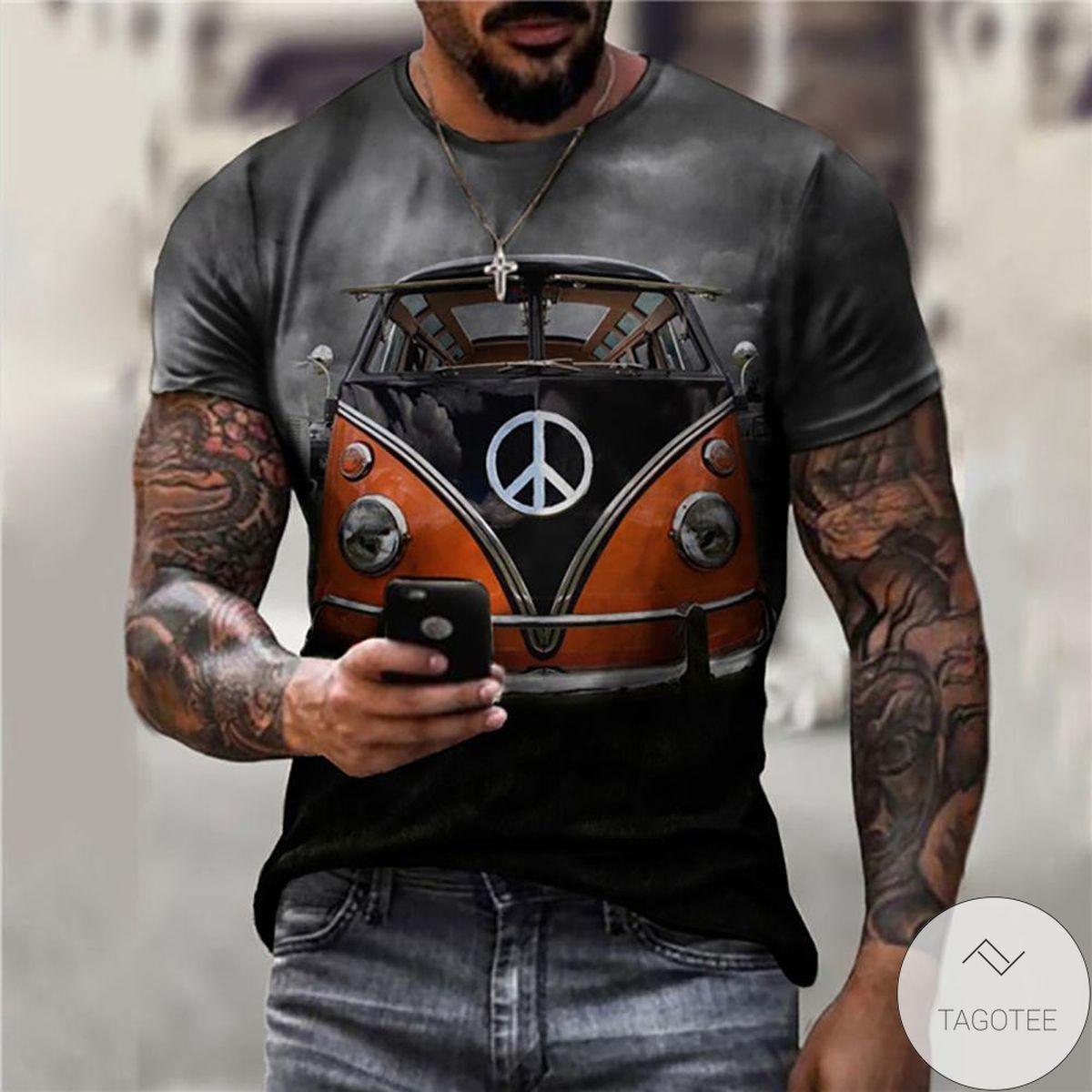 Great artwork! Car Print 3d Graphic Printed Short Sleeve Shirt