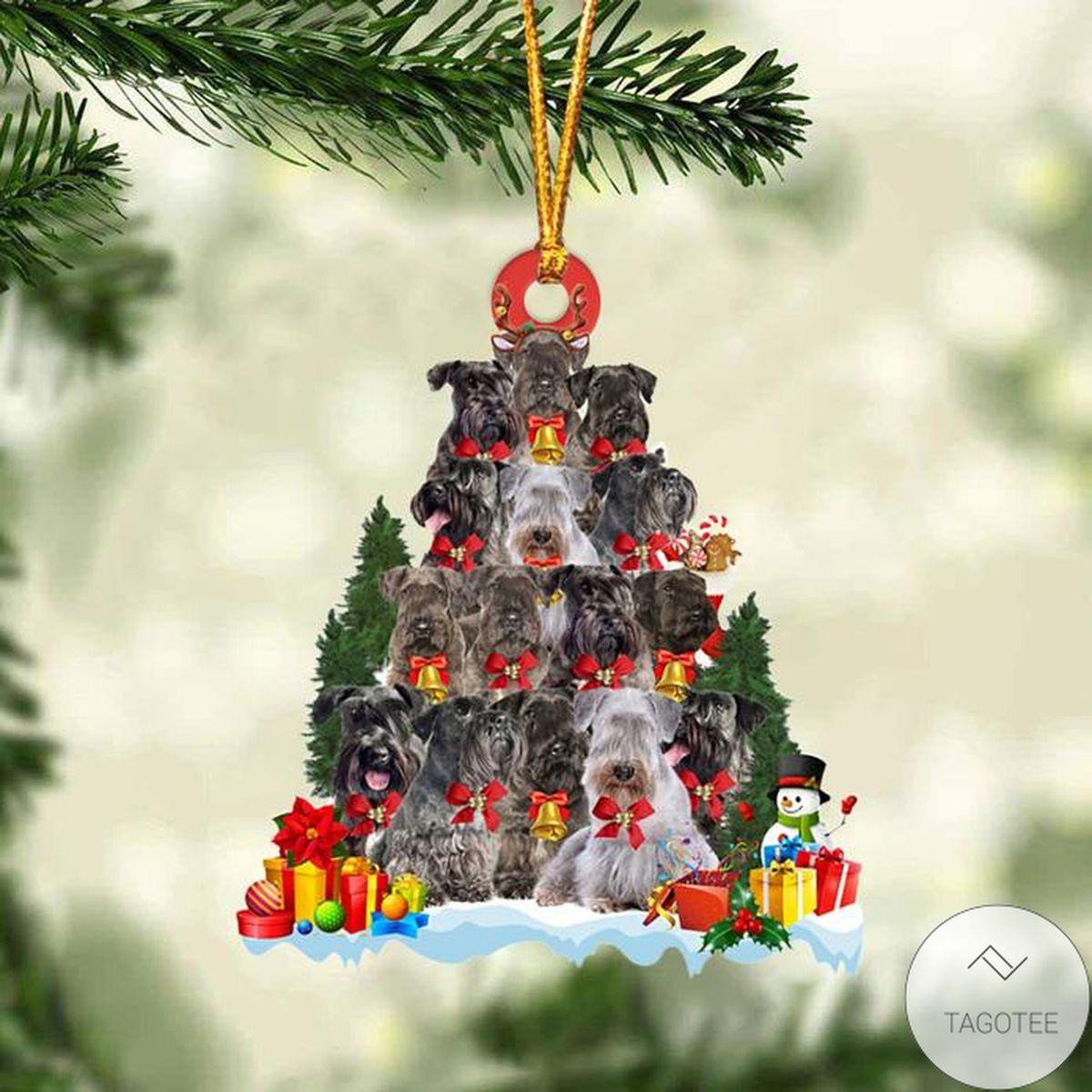 Cesky Terrier Dog Christmas Tree Ornament