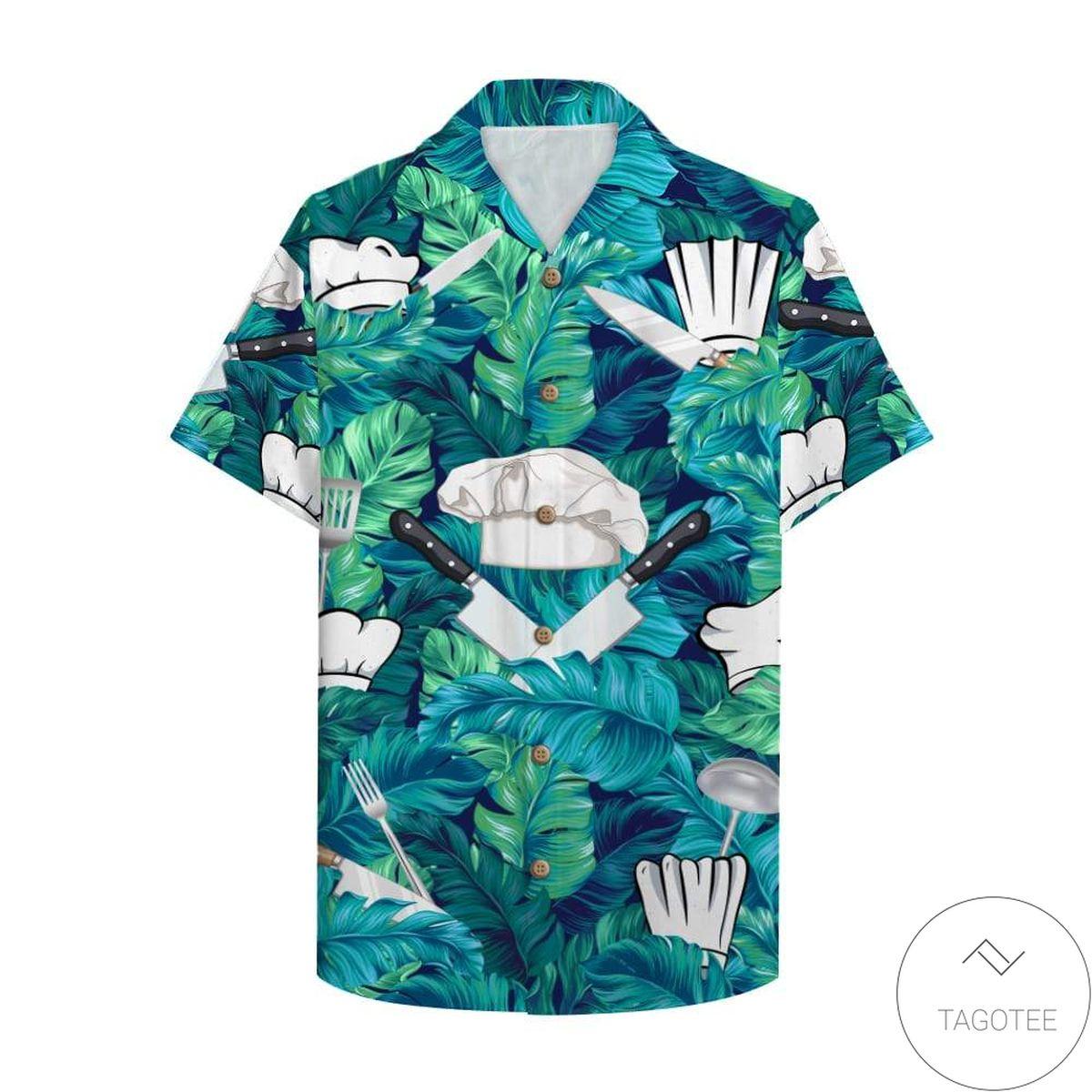 Chef Hawaiian Shirt