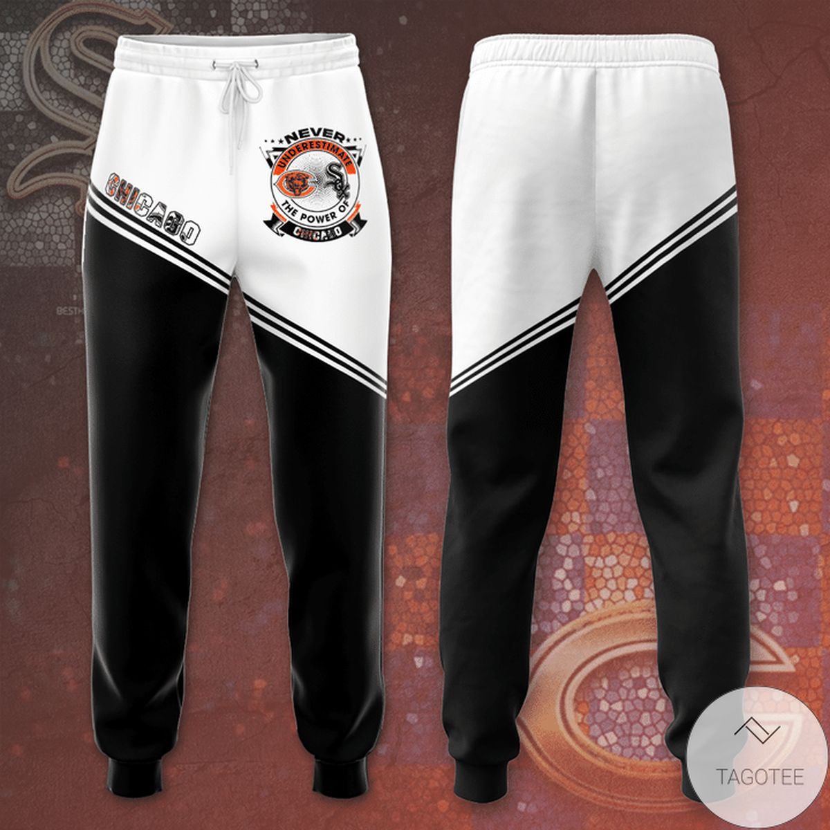 Chicago Bears And Chicago White Sox Unisex Long Pants