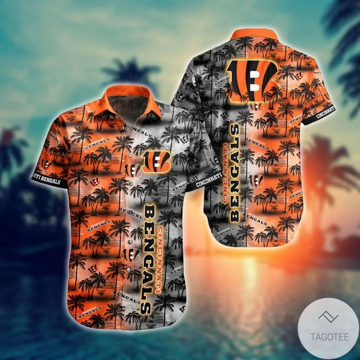 Cincinnati Bengals NFL Hawaiian Shirt
