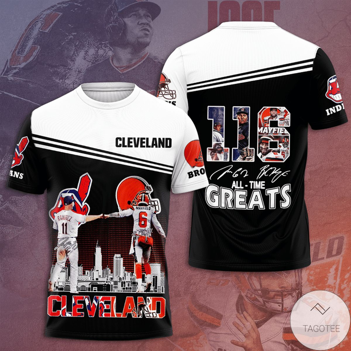 Cleveland 116 All Time Greats 3d Shirt