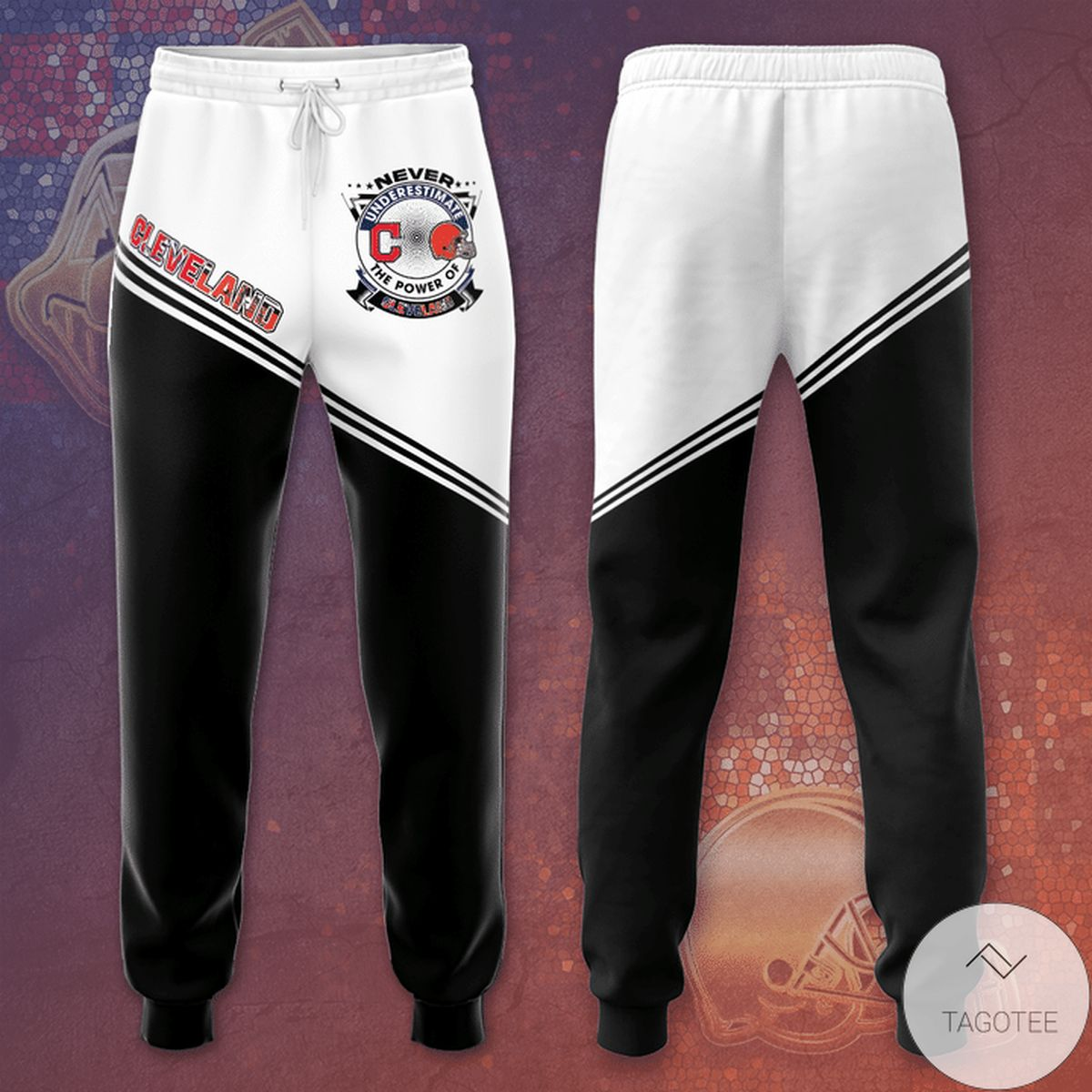 Cleveland Browns And Cleveland Indians Unisex Long Pants