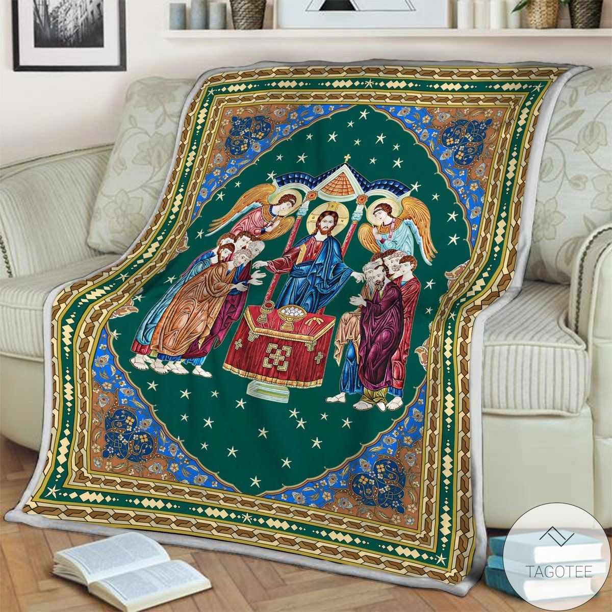 Top Rated Communion Of The Apostles Blanket