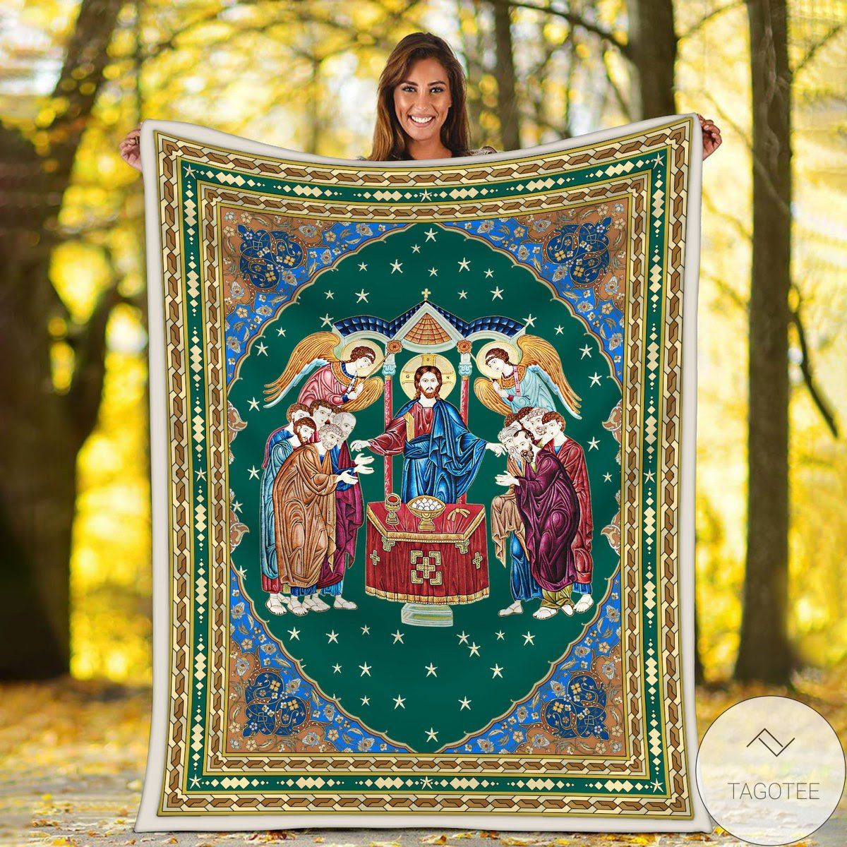 Communion Of The Apostles Blanket