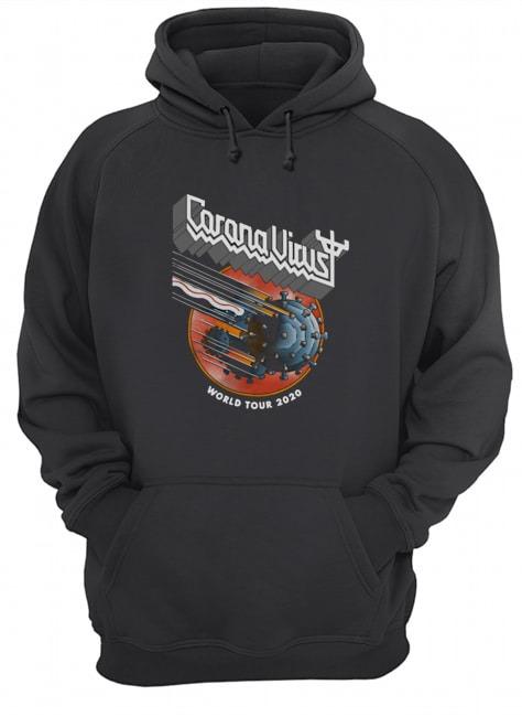 Coronavirus World Tour 2020 hoodie