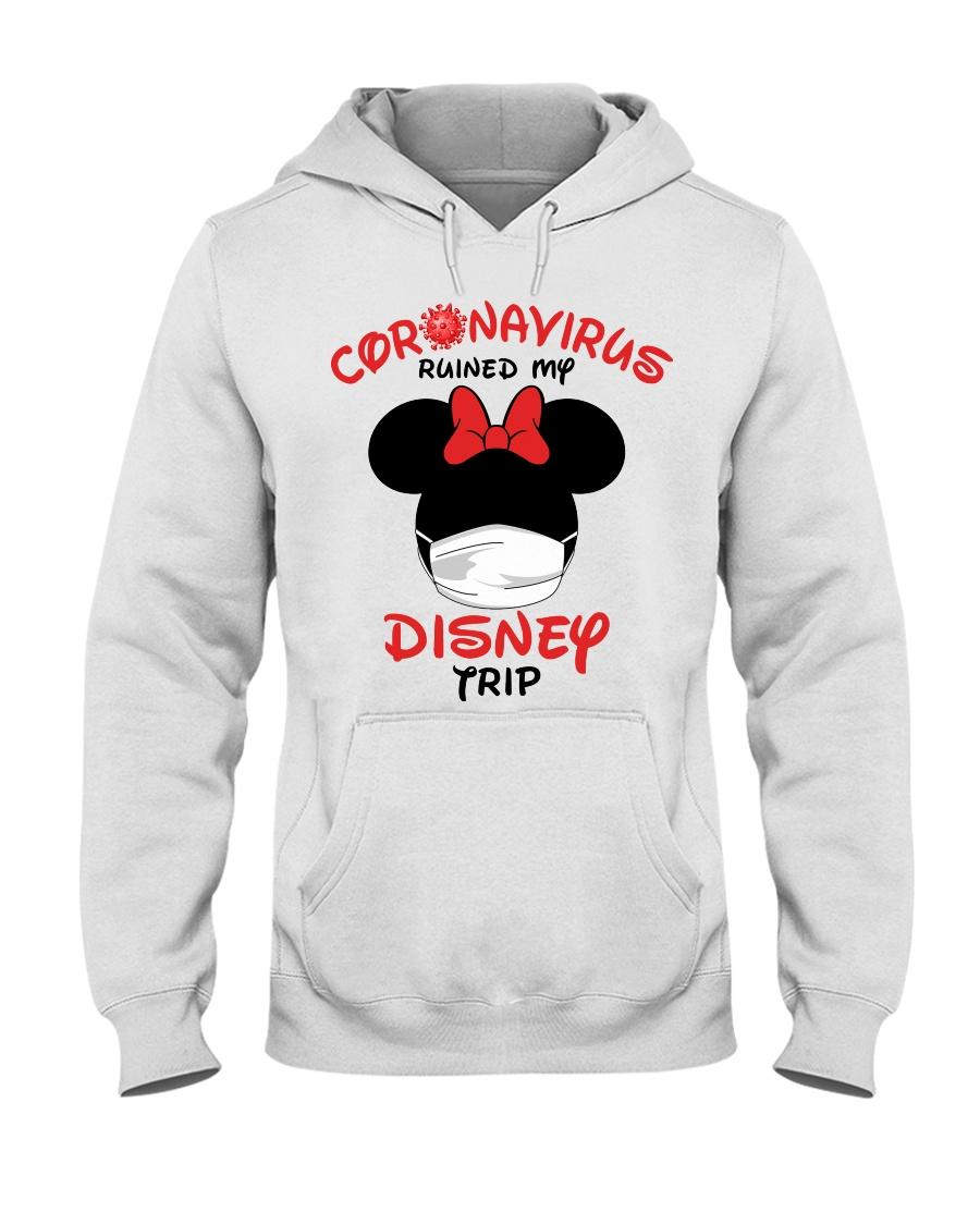 Coronavirus ruined my Disney trip hoodie