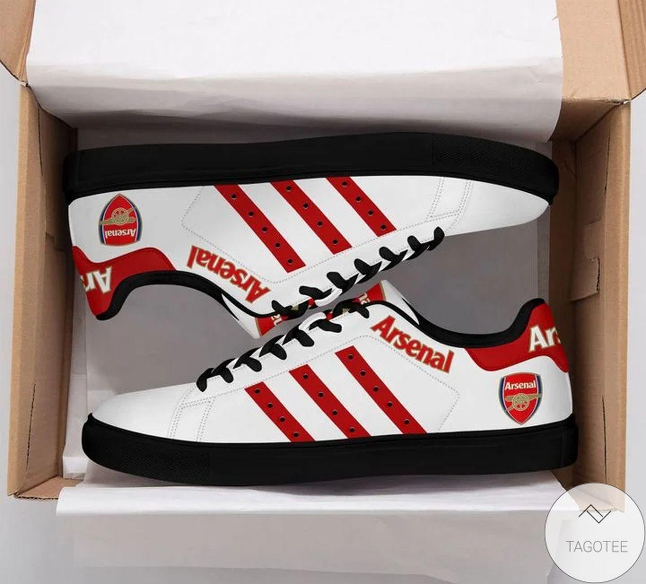 Arsenal Stan Smith Shoes