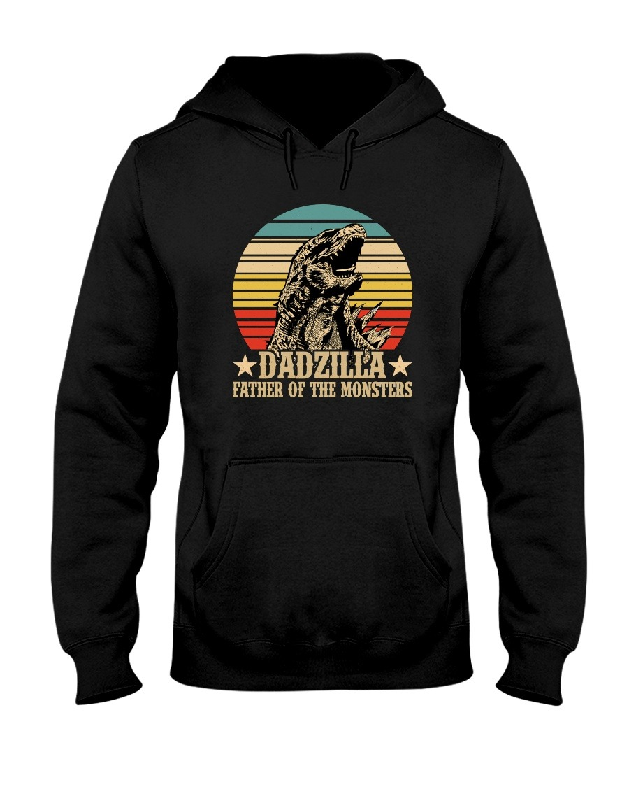 Dadzilla father of the monster vintage hoodie