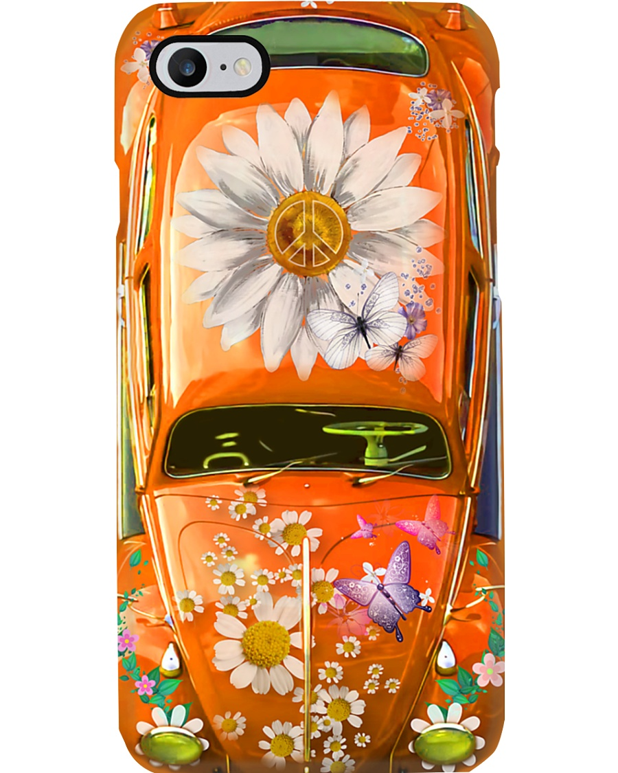 Daisy VW Butterfly Hippie phone case