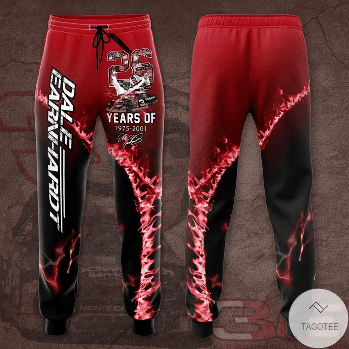 Dale Earnhardt 26 Years Unisex Long Pants