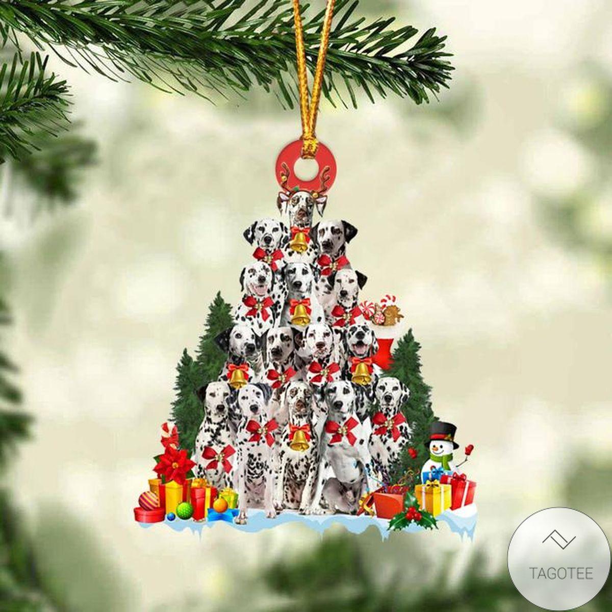 Dalmatian Dog Christmas Tree Ornament