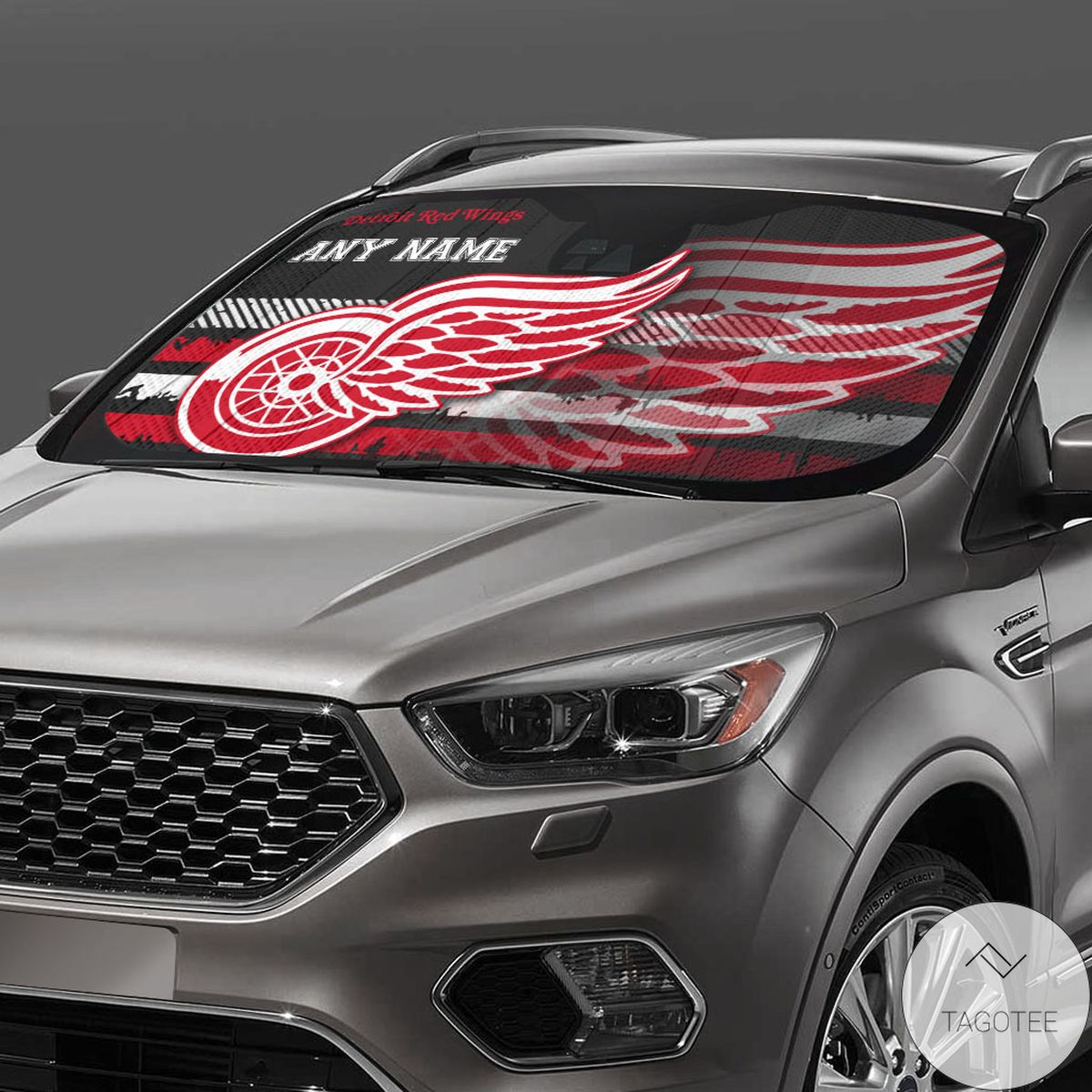 Detroit Red Wings Universal Car Auto Sun Shade