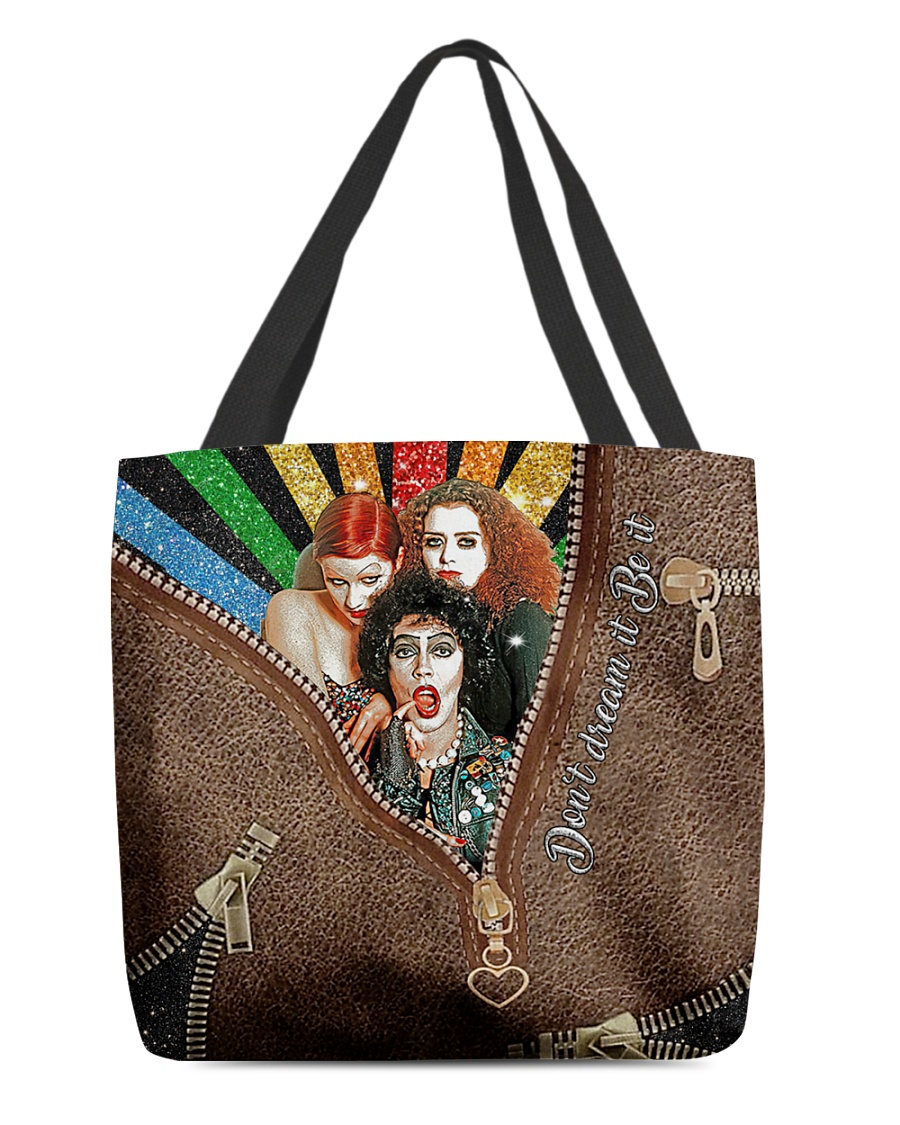 Don't dream it be it The Rocky Horror Picture Show zipper tote bag 4
