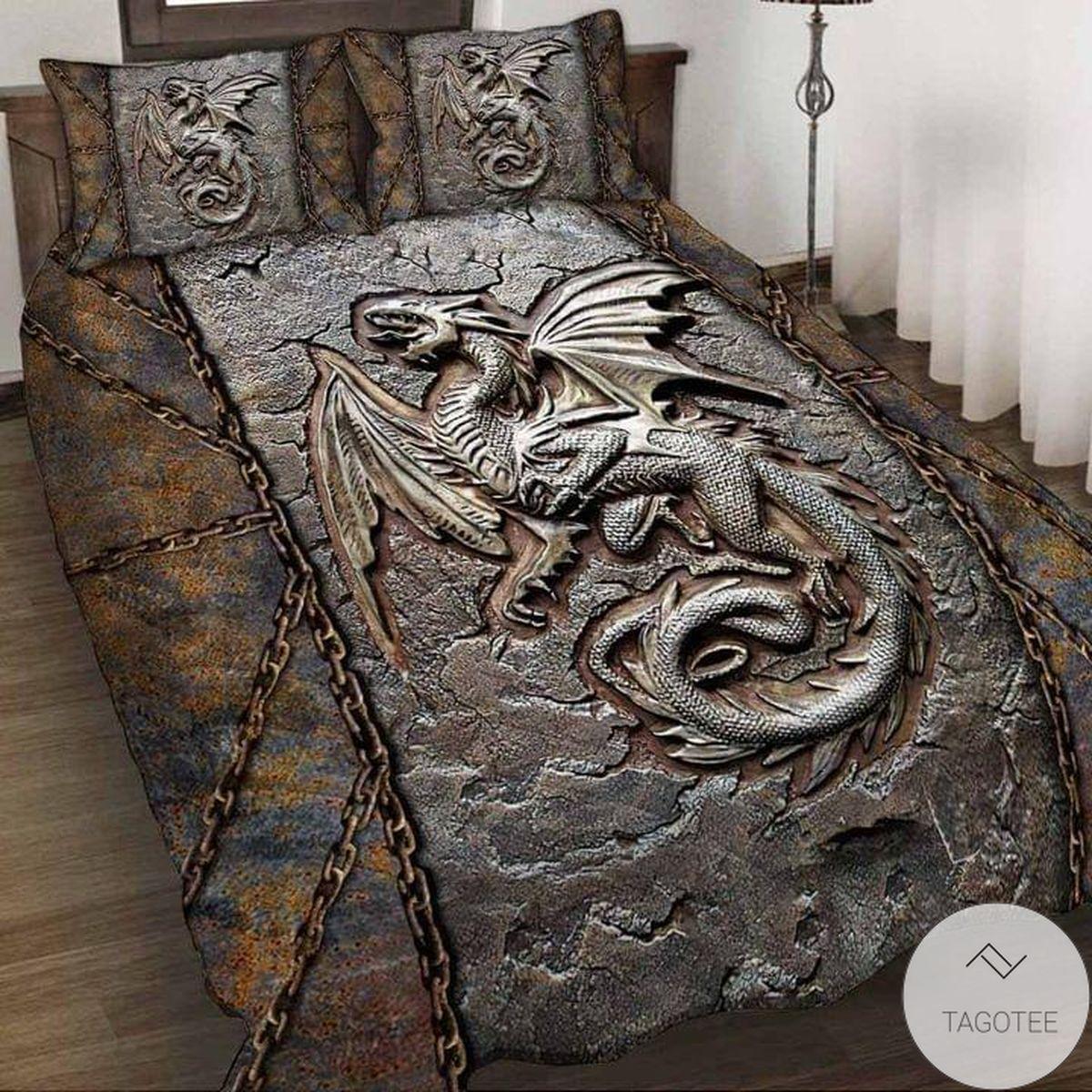 Dragon Fossil Bedding Set