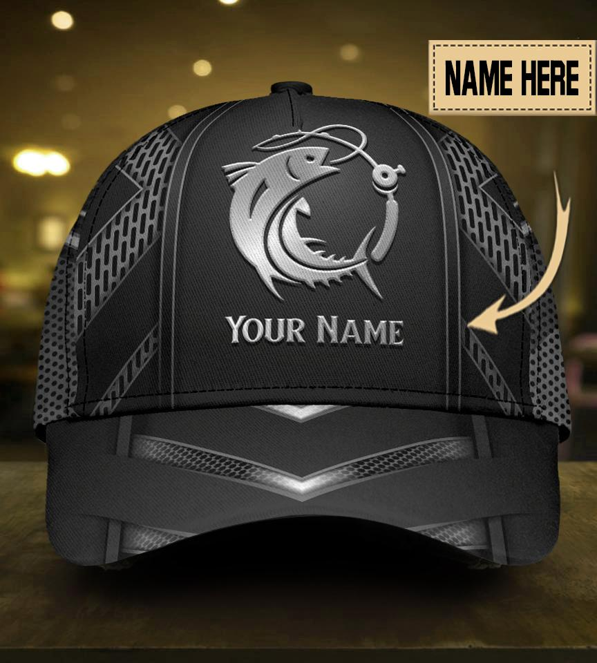 Personalized Fishing 3D Cap