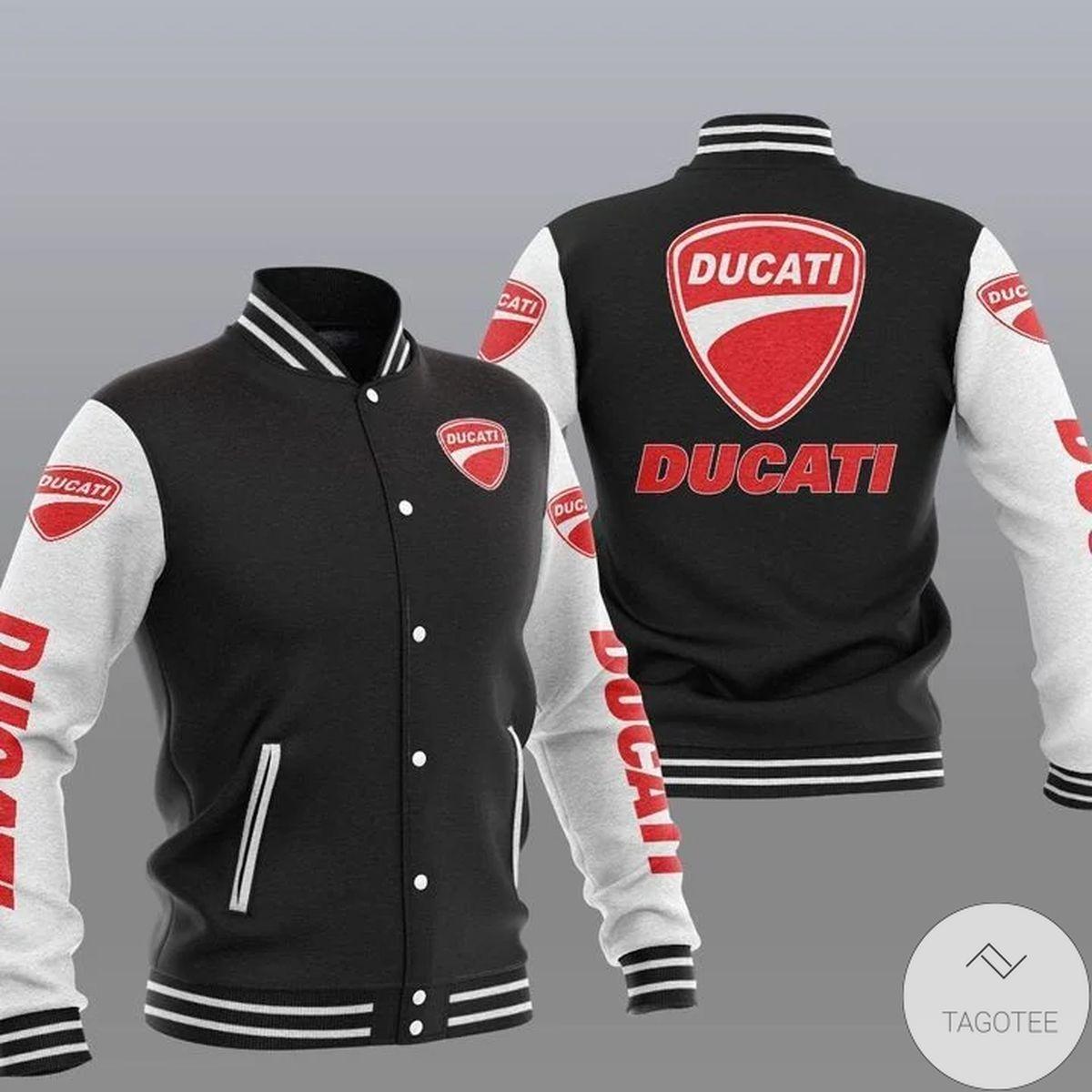 Ducati Varsity Baseball Jacket