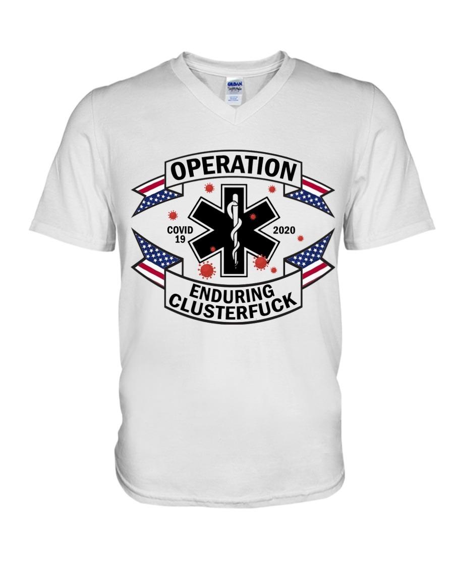 EMT Operations Enduring Clusterfuck 2020 V-neck