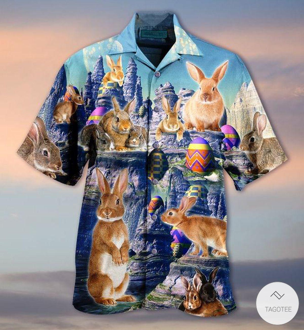 Easter Bunny Hawaiian Shirt