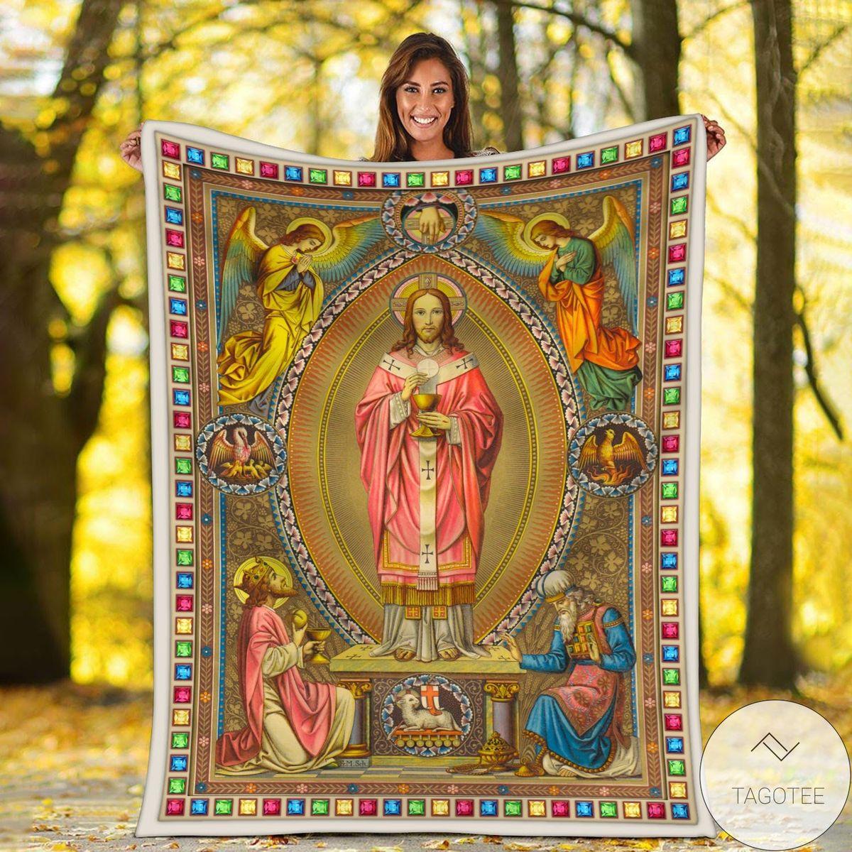 Eastern Orthodox Jesus Blanket