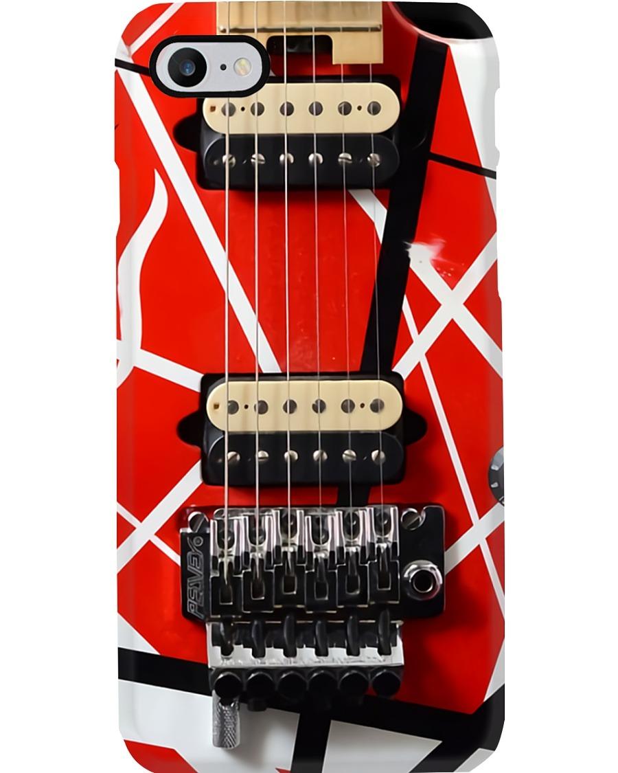 Eddie Van Halen Guitar Pattern Phone Case