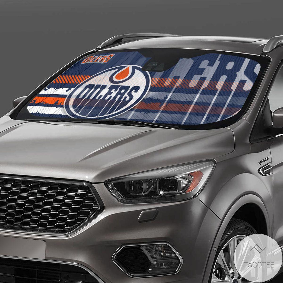 Edmonton Oilers Universal Car Auto Sun Shade