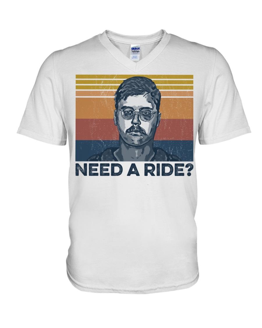 Edmund Kemper Need A Ride V-neck
