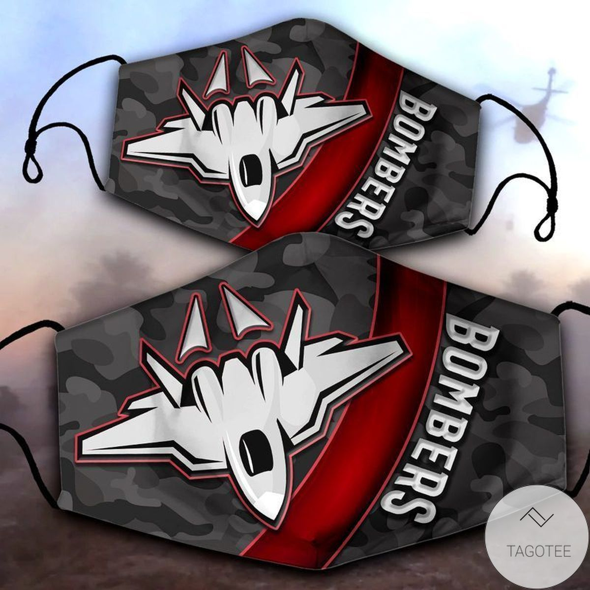 Essendon Bombers Face Mask