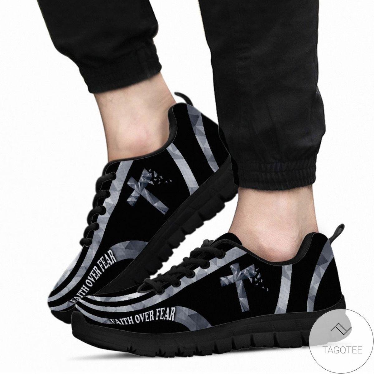 Faith Over Fear - God Sneakers