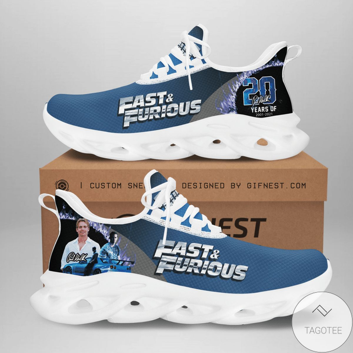 Fast And Furious Paul Walker 20 Years Sneaker Max Soul Shoes